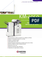 Km-4050 Spec Sheet Final Sp