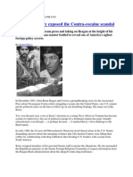 How John Kerry exposed the Contra-cocaine scandal