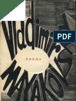 Vladimir Mayakovsky Poems