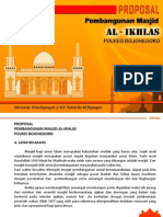 Proposal Masjid