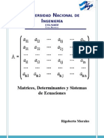 Unidad I Matrices ,Determinantes