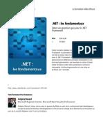 Net Les Fondamentaux