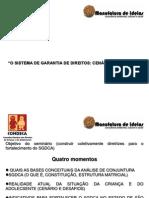 Palestra Magna Márcia Guerra_Cenários e Desabios do SGDCA -