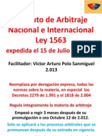 Copia Clases 2013 Arbitramento Ley 1563