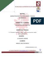 TI actuales enhardware, software, datos y comunicaciones, calidad, procesos informáticos resumen.docx
