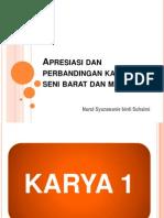 Apresiasi Dan Perbandingan Karya Seni Barat Dan Malaysia