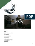 Monografía - Tesis (Amenábar)