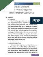 Data Statistik Gpai&Ppai Kemenag 2011