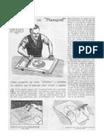 Impresión con técnica Planograf