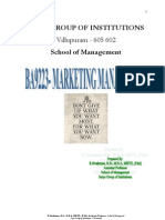 Marketing Management Notes for All 5 Units