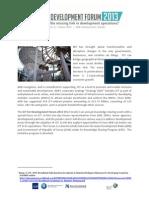 ICTD Forum 2013 Programme