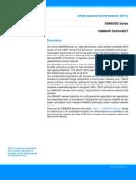 Atmel 11121S 32 Bit Cortex A5 Microcontroller SAMA5D3 Summary Datasheet