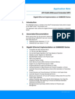 Atmel 11164 GMAC for SAMA5D3 Series Application Note