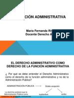 La Funcion Administrativa