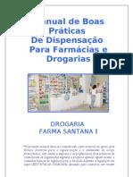 Manual de Boas Praticas de Dispensacao Para Drogaria