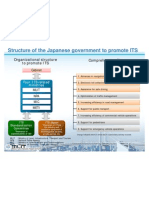 Structure Japanese Government Promote Its