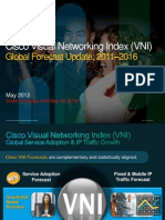 Estudio Sobre Internet 2011 2016 95420143 VNI Global IP Traffic Forecast 2011 2016