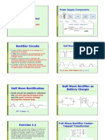 ECE 334 Chapter 2 Diodes Rectifiers