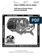 A Landfill Gas-To-Energy Project Development Handbook