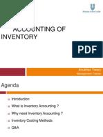 Anubhav Tiwary_1211171_Accounting of Inventory