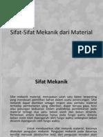 Sifat-Sifat Mekanik Dari Material