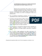 Presentacion ANFUTEM 2.0 Metodologia Comision Triestamental