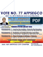 BOY ALEJO, Aming Konsehal sa 1st District Antipolo City