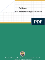 ICAI Guide on CSR Audit