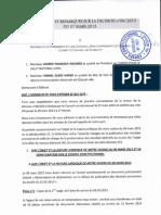Commentaires et remarques sur la décision n-6-2013