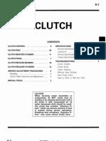 1989 Colt Turbo Clutch Install FSM