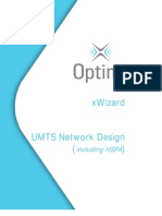 56638314 UMTS Network Design Using xWizard Including HSPA