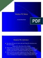 Relative Pe