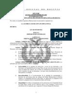 Ley No 065 Ley de Pensiones