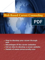 Web Based Career Counseling
