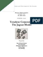 Teradyne - The Jaguar Project Case