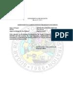 Supplemental Bid Bulletin Opening of Bids Resked