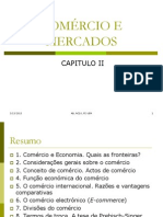 Slides COMÉRCIO E MERCADOS
