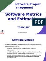 MELJUN CORTES JEDI Slides-7.6 Software Metrics and Estimation