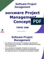 MELJUN CORTES JEDI Slides-7.1 Software Project Management Concepts