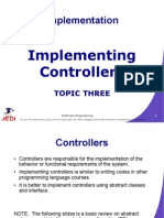 MELJUN CORTES JEDI Slides-5.3 Implementing Controllers