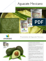 Avokado / Guacamole Brochure