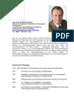 Univ.-prof. Dr. Michael Thomas Chefarzt Der Abteilung für Internistische