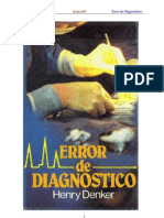 Denker Henry - Error de Diagnostico