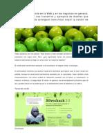 Usos Del Color Verde en La Web y en Los Negocios en General