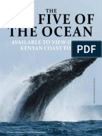 Marine Research Programme in SWARA Magazine