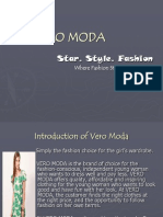 PPT on Vero Moda
