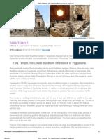 TARA TEMPLE - The Oldest Buddhism Heritage in Yogyakarta