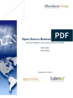 Open Source Business Intelligence