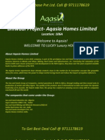 Aqasia Homes Limited, Luxury Appartment