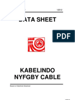 Kabelindo NYFGBY Cable